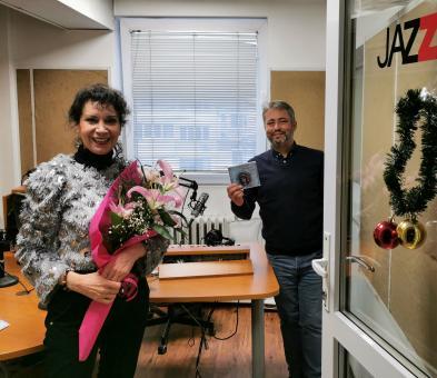 Iъс Светослав Николов в студиото на Радио Jazz FM=